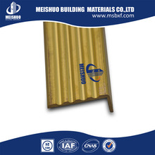safety brass tile stair nose edging