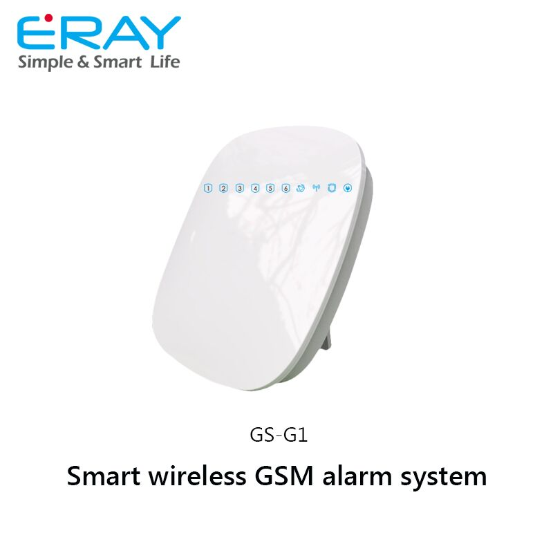 Home automation smart APP control home security alarm system wireless GSM alarm system with multi-function