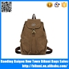 High quality fashion unisex retro college knapsack travel school vintage backpack rucksack alibaba China
