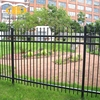 used garden decorative wall wrought iron fence/boundary wall metal fence