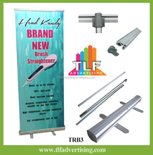 Retractable Roll Up Banner Stands and Pull up banner stands for trade show displays