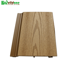 outdoor lightweight cheapest exterior wood WPC wall panels cladding siding paneling building material