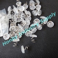 Hot Selling 13mm Transparent Head Twist Upholstery Pin