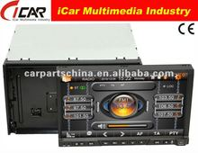 NEW/HOT Double Din 7'' touch screen,GPS, Bluetooth, TV, PIP, IPod, 3D UI car dvd lcd player