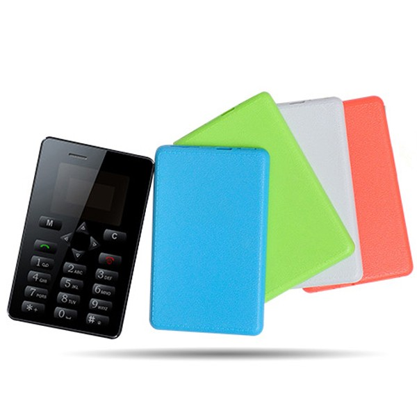 iCard M5 Mini Size Ultra Thin Card Size Mobile Phone GSM Quad Core Single SIM Card Simple Mobile Phone Without Camera