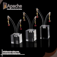 Cheap Price Latest design acrylic jewelry display stands Manufacturer in China