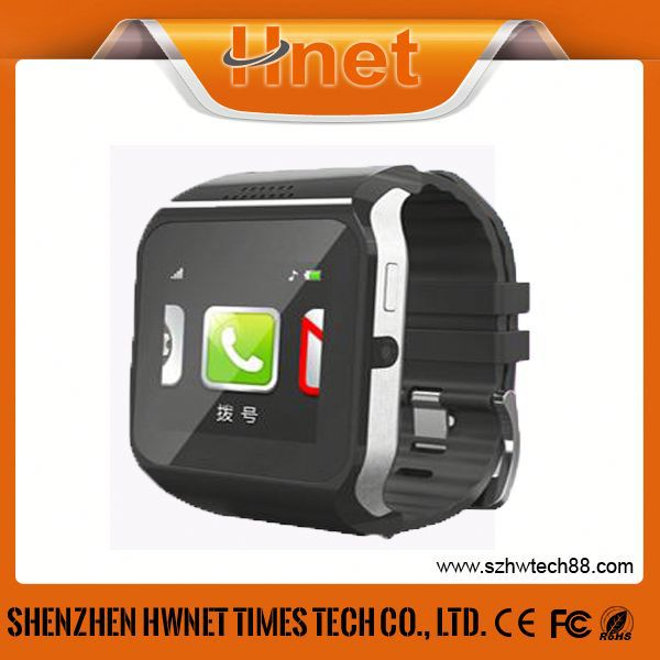 2014 Newest Watch Phone HEMI Touchscreen Bluetooth Unlocked Quad-band Watch Mobile Phone