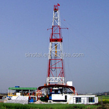 5000m /1500HP Mechanical Skid-Mounted Oil Drilling Rig