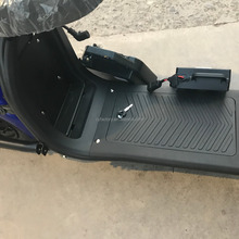 Electric Scooter with LED Lights Bluetooth Speaker And Free Remote