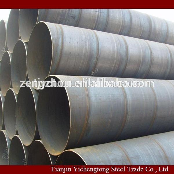 46 INCH 228mm ssaw pipe astm a500 structure steel pipe/chinese trading company