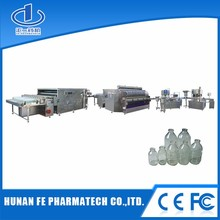 Automatic filling Nitrogen charging Machine glass bottle production line