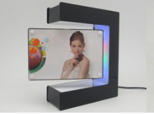 Magnetic Floating Photo Frame, 0 to 1kg (Optional) Levitates and Turns in Mid-air