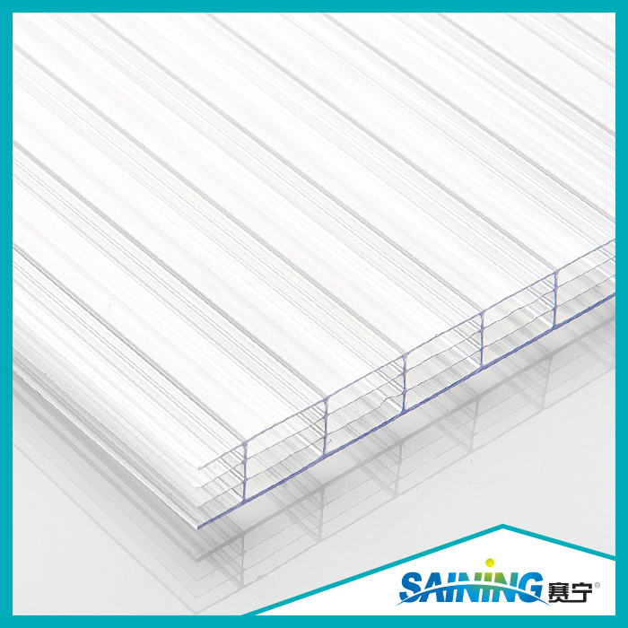 Clear Transparent Anti-Fog Polycarbonate Hollow Sheet