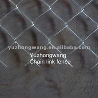 11 gauge/6 gauge chain link mesh fence--direct factory