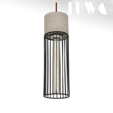 Nordic Minimalist new designed metal iron bird cage chandelier replica ceiling lamp retro light pendant restaurant home