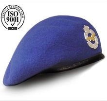 Custom Blue air force beret
