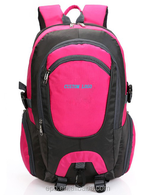 2017 best university backpack, custom logo outdoor brand backpack with laptop compartment