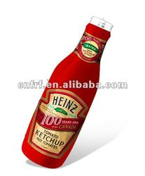 inflatable ketchup bottle