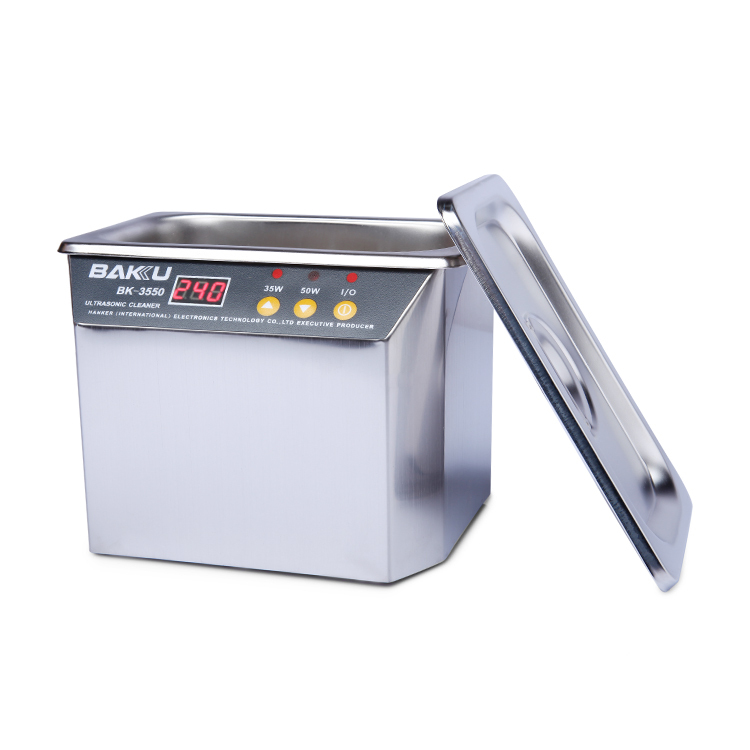 New design head fruit watch ultrasonic cleaner with great price BK-3550