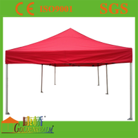 Portable Canopy Gazebo Folding Tent with steel anti rust coating
