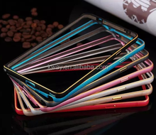 Luxury Ultra thin Metal Frame Case For Samsung Galaxy S5 S6 S4 Note 2 3 4 Aluminum Bumper Case