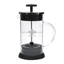 Best price and high quality Glass 1000ml Coffee and Tea pot with patent exclusive stainless steel Self-lock filter