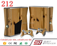 Gold Vinyl Decal Cover Skin Sticker for Xbox360 slim and 2 controller skins