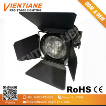 Professional High CRI 3200k studio video flim Tv Cob200 watt led fresnal spot light with barries