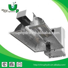 1000w greenhouse double ended fixture/ grow light reflector hood/ hps grow light air cooled reflector/hood