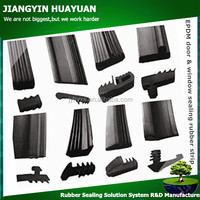 Jiangyin Huayuan supply high performance various epdm door & window sealing rubber strip