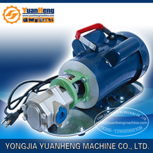 WCB series electric gear oil pump / Portable electric rotary gear pump / Small transfer fuel pump