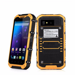 4.3 inch waterproof android touch rugged phone android 4.4 quad core 3G A9
