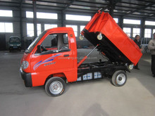 Trash collecting truck with EEC homologation