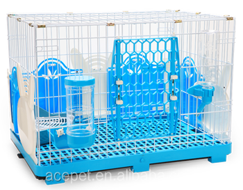 Rabbit Cage with Rabbit-Style Fences - M