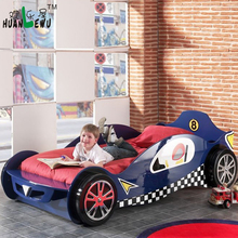 Hot Sale Racing Car Bed For Kids In E1 MDF car bed for boys