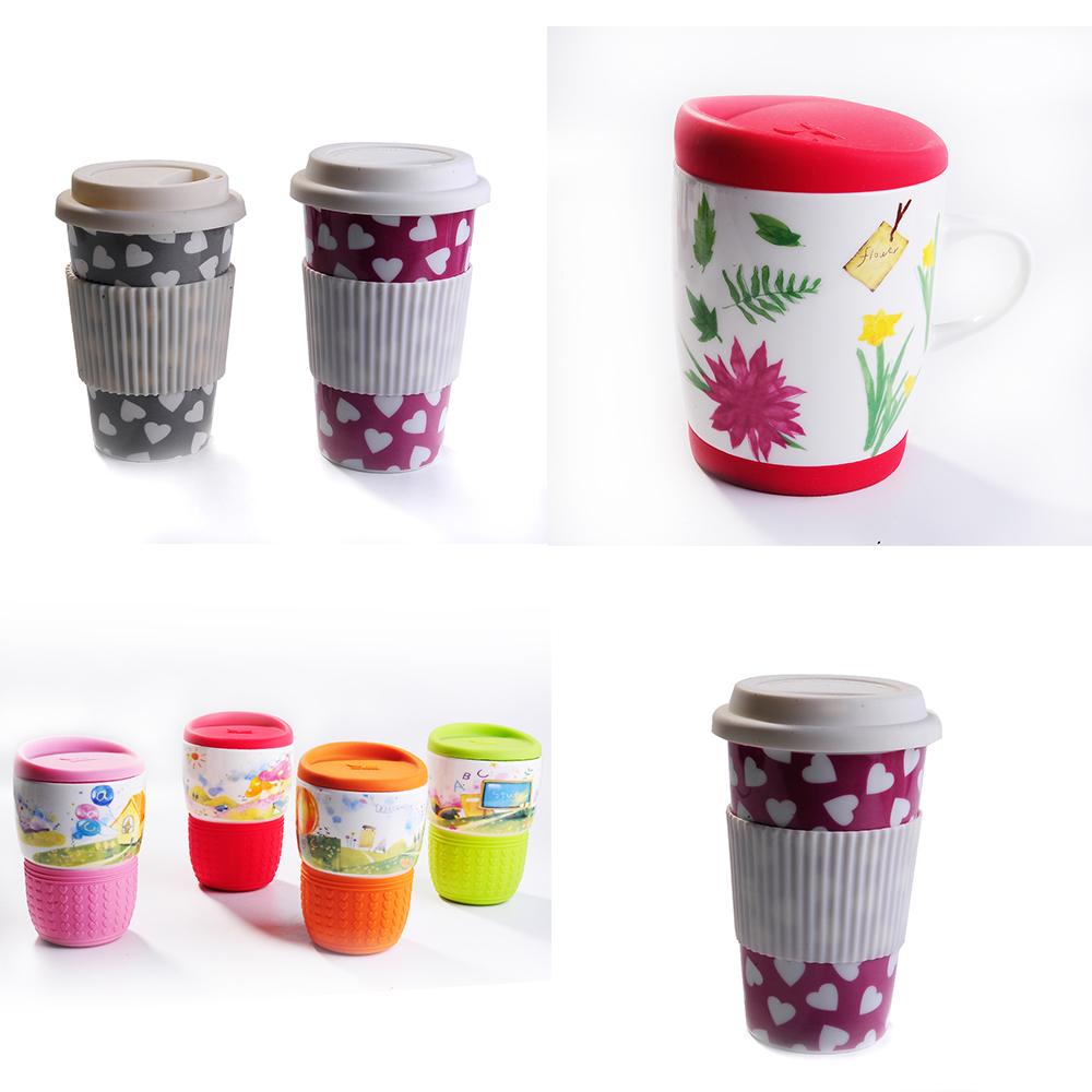 wholesale Temperature sensitive color changing ceramic coffee mugs for sublimation printing mug coffee cup with gift box