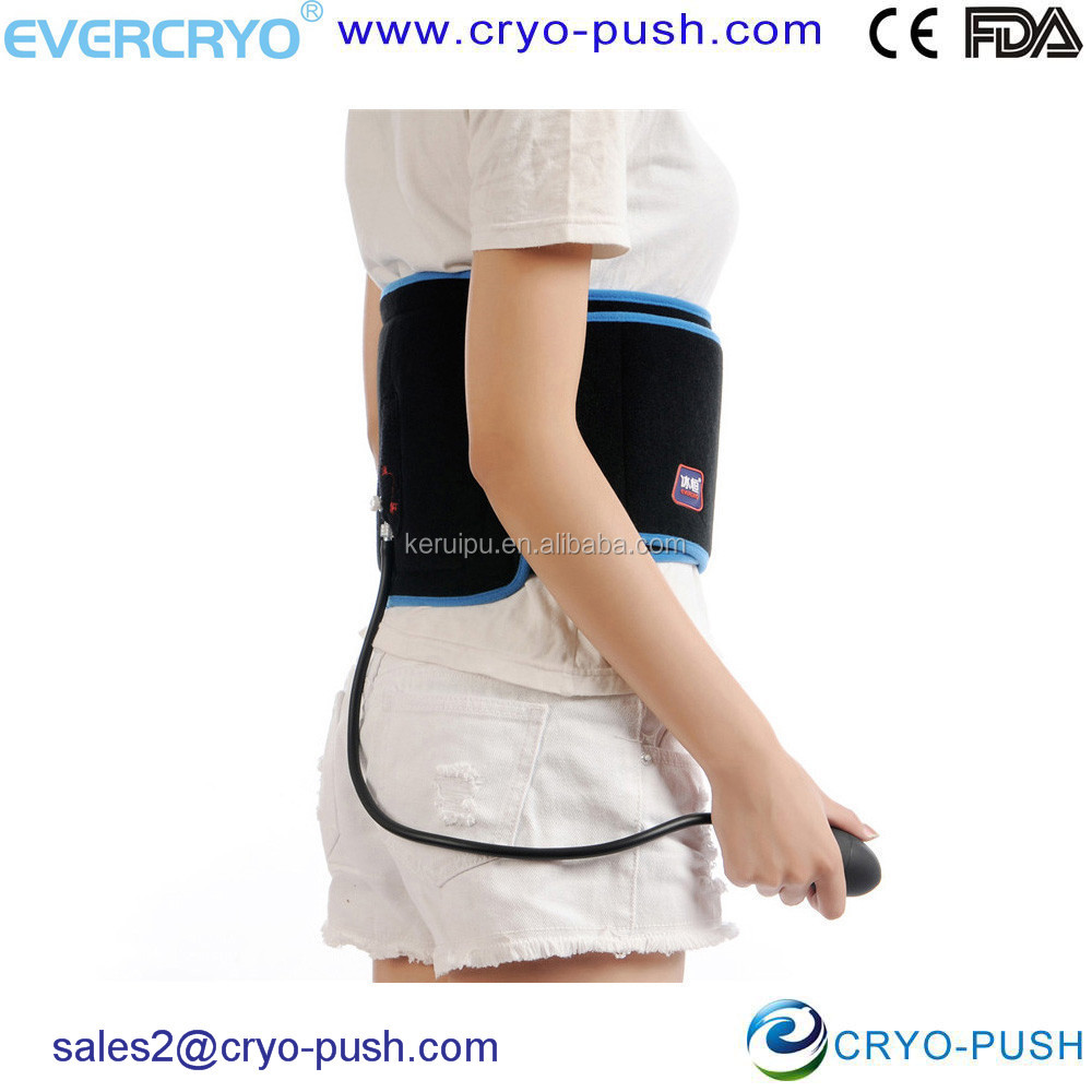 2016 Hot Evercryo Black Cold and Compression Therapy with Cold Wrap and Fixed Pad For Back Hip Rib E1