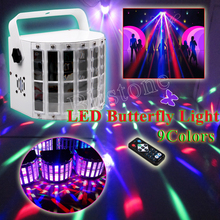 LED Butterfly Stage Light White Pro DJ Lighting For Party Light