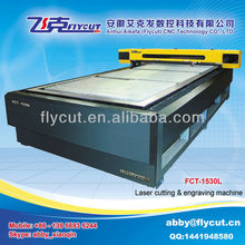 Flycut FCT-1530L large format big power CO2 laser wood cutting machine price