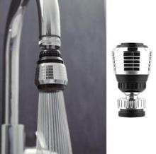 High Quality Kitchen 360 Rotate Swivel Two-function plastic tap faucet water saving aerator