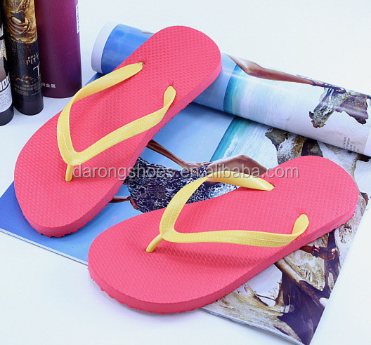 customized printed advertising hotel slipper nude women's beach sandals white wedding flip flops