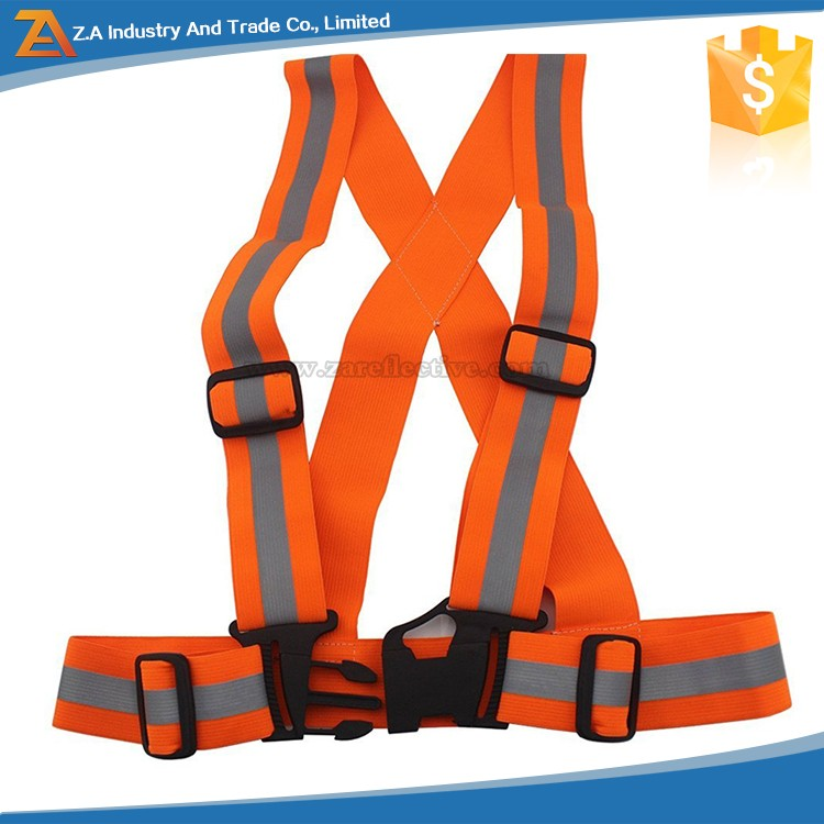 Best Reflective Safety Vest Motorcycle Riding, or Running - Elastic and Easily Adjustable Means the Best Running Gear Around