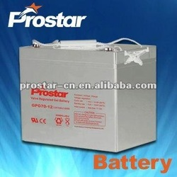 competetive rechargeable storage battery solar battery 6v225ah