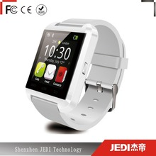 Top fashion small bluetooth watch mobile android phone without camera U8 E0022