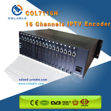 COL7116H 16 Channels H.264 HD-MI to IPTV Converter Encoder