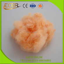 BIG MANUFACTURER MATERIAL TEXTILE SOLID RECYCLED DOPE DYED POLYESTER STAPLE FIBRE FOR CARPET
