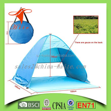 Portable Outdoor Automatic Instant beach Cabana Pop Up Beach Tent