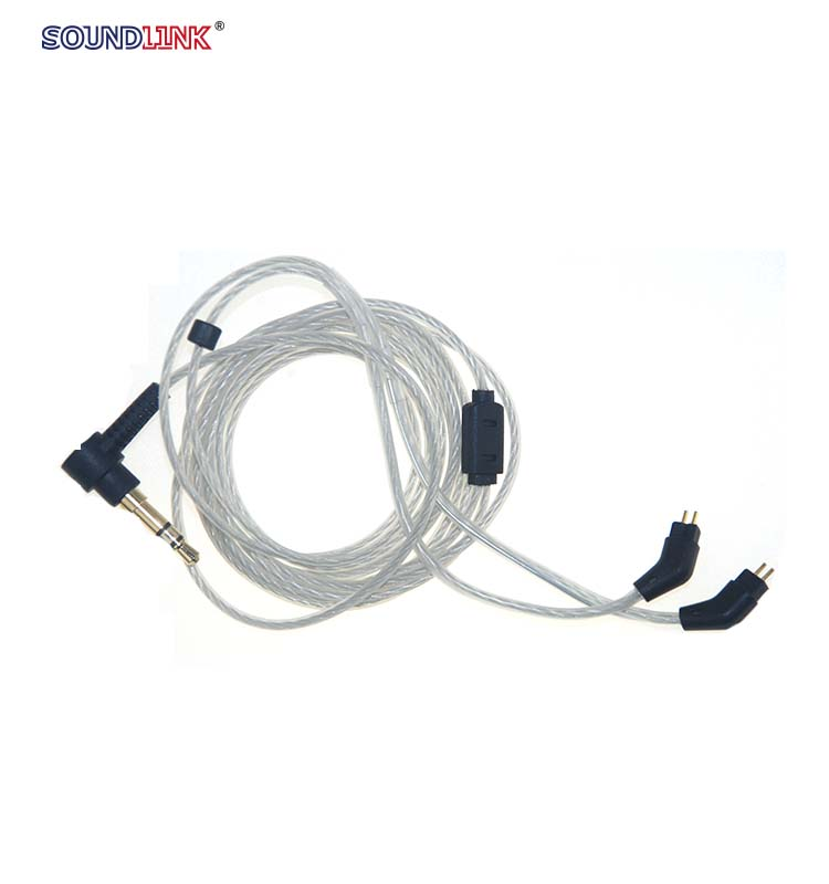 China wholesale IEM cable high-quality earphone wire use for custom earphone,