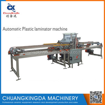 SKT800/1000/1200 Series Laminator Machine For Full Glazed Tiles Microcrystalline Brick