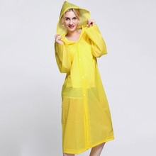 raincoats type and polyester,100%high quality PVC/PEVA/EVA material cheap rain jacket